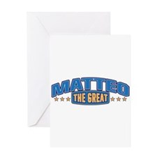 The Great Matteo Greeting Card