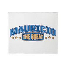 The Great Mauricio Throw Blanket