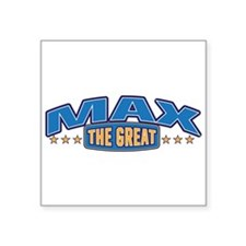 The Great Max Sticker
