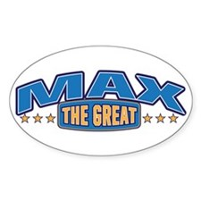 The Great Max Decal