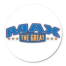 The Great Max Round Car Magnet