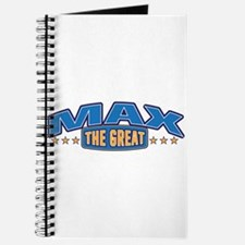 The Great Max Journal
