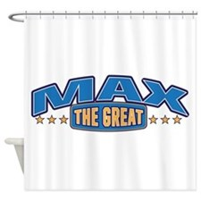 The Great Max Shower Curtain