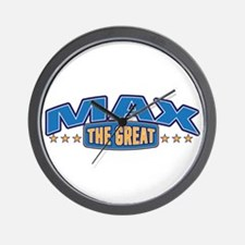 The Great Max Wall Clock