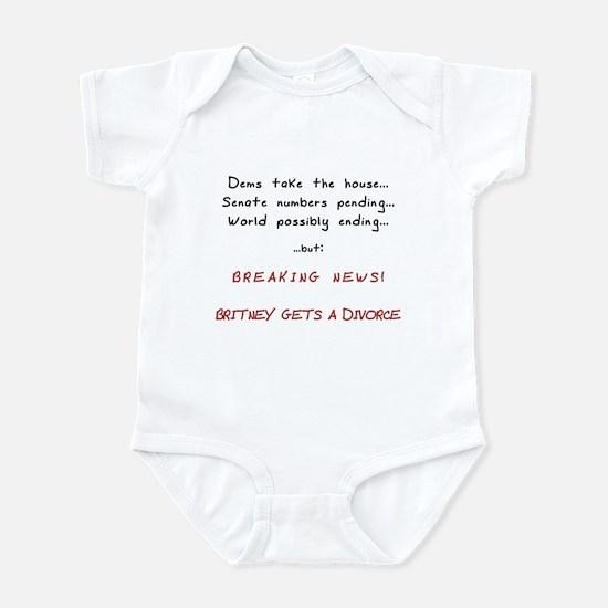 Breaking News Britney Infant Bodysuit