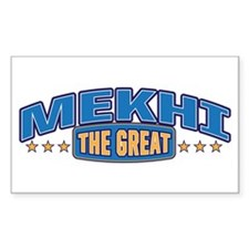 The Great Mekhi Decal