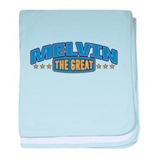 The Great Melvin baby blanket