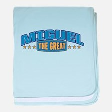 The Great Miguel baby blanket