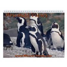 Animal View Wall Calendar