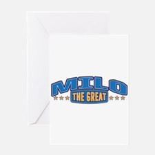 The Great Milo Greeting Card