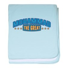 The Great Mohammad baby blanket