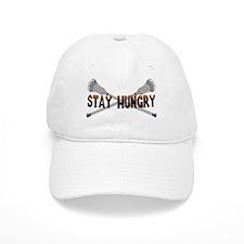 Lacrosse Stay Hungry Baseball Baseball Cap