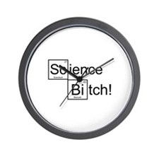 Science Bitch! Wall Clock