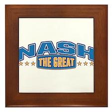 The Great Nash Framed Tile
