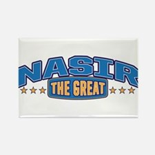 The Great Nasir Rectangle Magnet