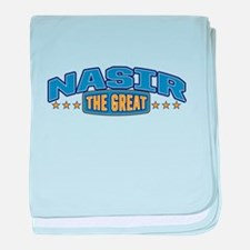 The Great Nasir baby blanket