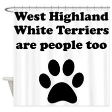 West Highland White Terriers Are People Too Shower