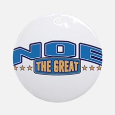 The Great Noe Ornament (Round)
