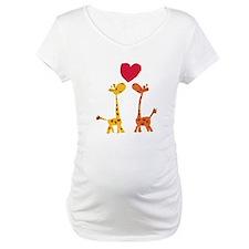 Funny Giraffe Love Shirt