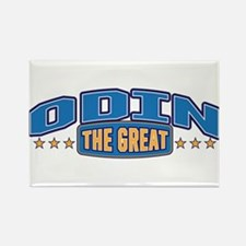 The Great Odin Rectangle Magnet
