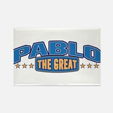 The Great Pablo Rectangle Magnet