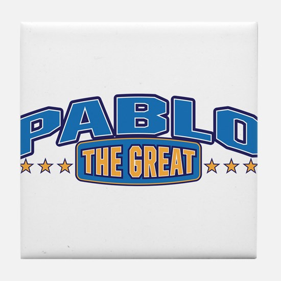 The Great Pablo Tile Coaster