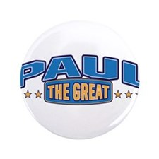 "The Great Paul 3.5"" Button (100 pack)"