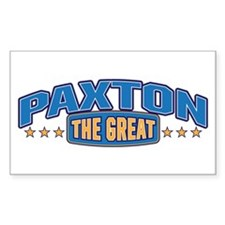 The Great Paxton Decal