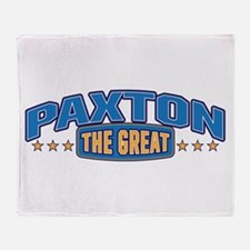 The Great Paxton Throw Blanket