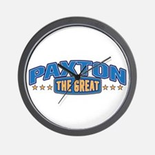 The Great Paxton Wall Clock
