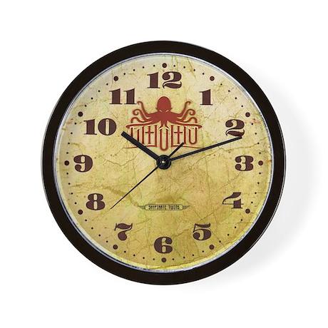 Lovecraft - Cthulhu Wall Clock