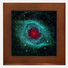 Helix Nebula Framed Tile