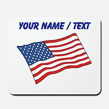 Custom American Flag Mousepad