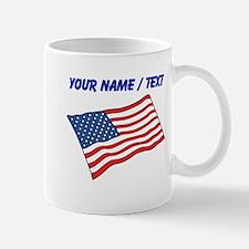 Custom American Flag Mug