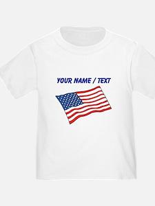 Custom American Flag T-Shirt