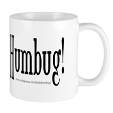 NEW! BAH HUMBUG! Anti Christmas Mug for Scrooges