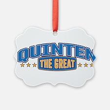 The Great Quinten Ornament