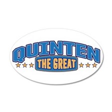 The Great Quinten Wall Decal