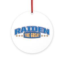 The Great Raiden Ornament (Round)