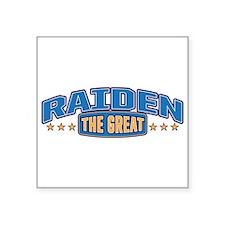 The Great Raiden Sticker