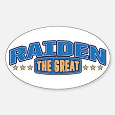 The Great Raiden Decal