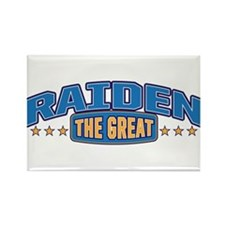 The Great Raiden Rectangle Magnet (10 pack)