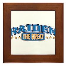 The Great Raiden Framed Tile