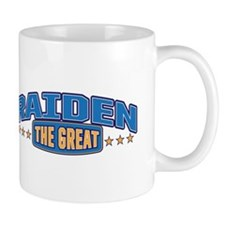 The Great Raiden Small Mugs