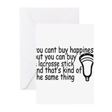 Lacrosse Happiness Greeting Cards (Pk of 20)