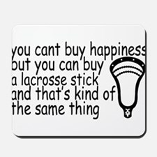 Lacrosse Happiness Mousepad