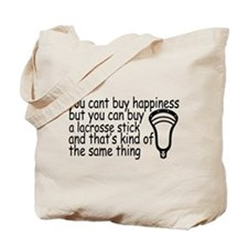 Lacrosse Happiness Tote Bag