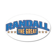 The Great Randall Wall Decal