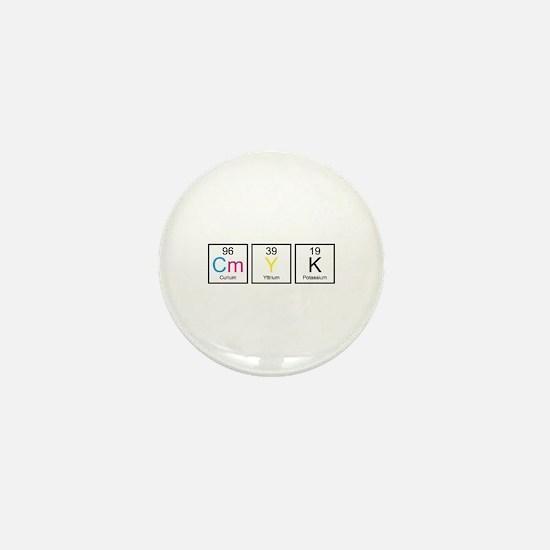 CMYK Elements Mini Button (10 pack)