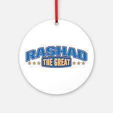 The Great Rashad Ornament (Round)